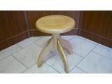 obrázek Dřevěná klavírní stolička točící
