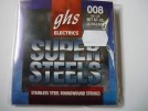 Struny GHS Super Steels ultra light 008