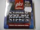 Struny GHS Super Steels  light 010