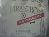 obrázek Kontrabass sada PIRASTRO 4/4  Flat -Chromesteel