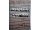 obrázek Kubánek Libor  Kvarteta pro bicí nástroje