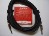 obrázek Nástrojový kabel Jonson EG-10 rovný jack délka 6m